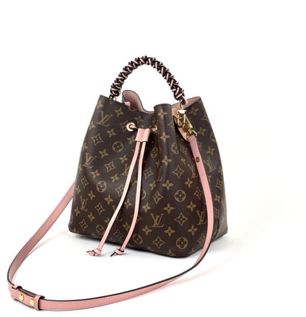 Louis Vuitton Monogram Neo Noe MM Rose Poudre