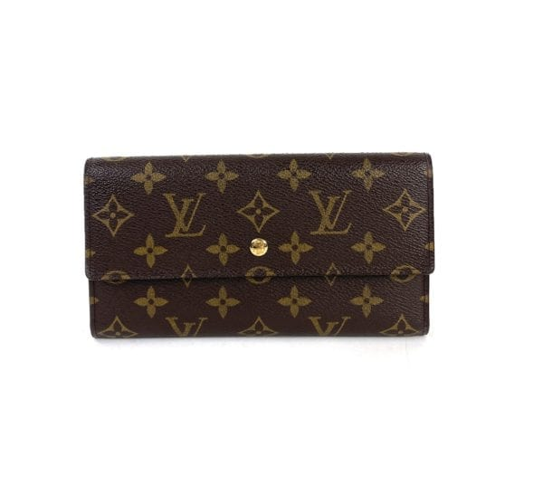 Louis Vuitton Monogram Porte Tresor International Wallet