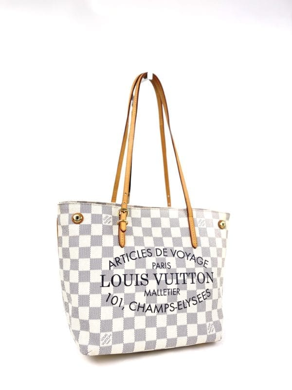 Louis Vuitton Damier Azur Cabas Articles De Voyage Adventure PM Tote