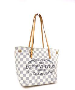 Louis Vuitton Damier Azur Cabas Articles De Voyage Adventure PM Tote