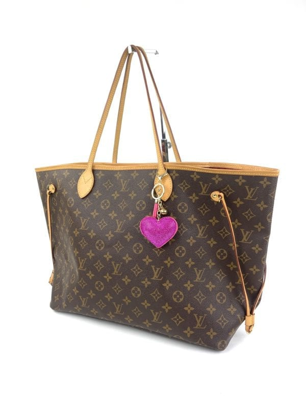 Louis Vuitton Monogram Neverfull GM Peony