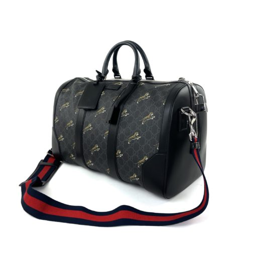 Gucci GG Supreme Tiger Bestiary Carry-On Duffle