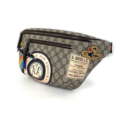 Gucci GG Supreme Courrier Waist Bag