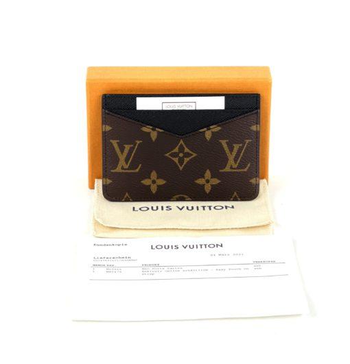 Louis Vuitton Monogram Macassar Neo Card Holder