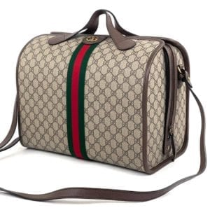 Gucci Ophidia GG Supreme Travel Duffle Bag