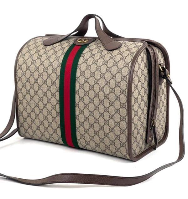 Gucci Ophidia GG Supreme Travel Duffle Bag