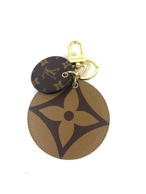 Louis Vuitton Reverse Monogram Key Holder and Bag Charm
