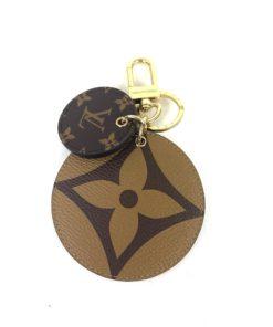 Louis Vuitton Reverse Monogram Key Holder and Bag Charm