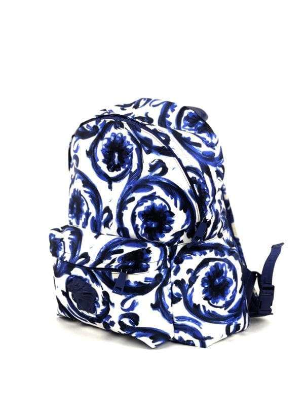 Versace Palazzo Blue Baroque Backpack