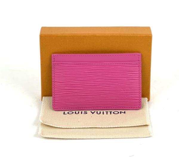 Louis Vuitton Epi Leather Card Holder