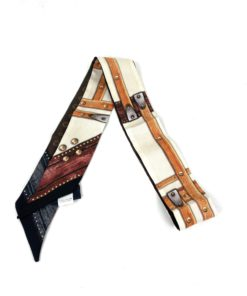 Louis Vuitton Silk Monogram Time Trunk BB Bandeau