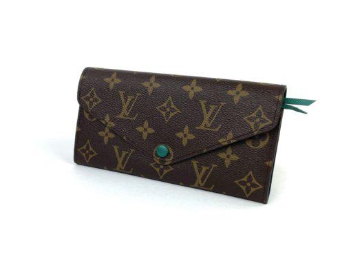 Louis Vuitton Monogram Josephine Wallet Green