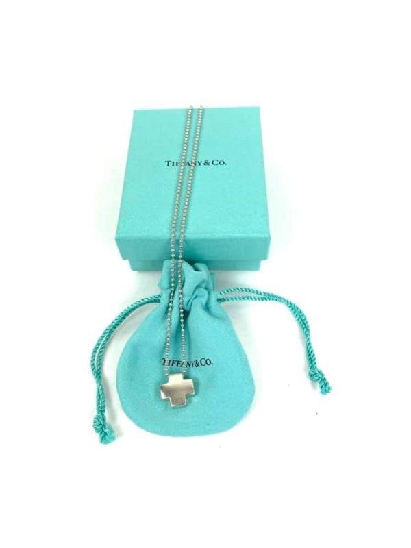 Tiffany 12oz. Swiss Cross Beaded Chain Necklace