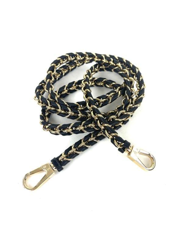 Louis Vuitton Leather Chain Strap