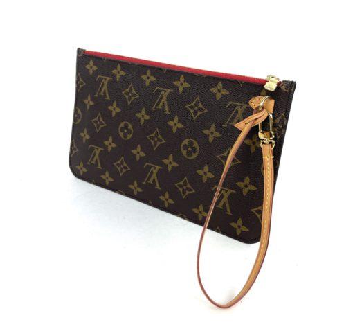 Louis Vuitton Monogram Neverfull Pochette Cerise