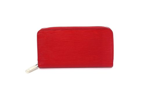 Louis Vuitton Epi Zippy Wallet Red