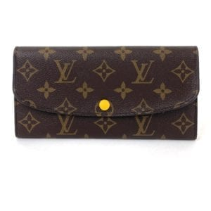 Louis Vuitton Monogram Emilie Wallet Mimosa