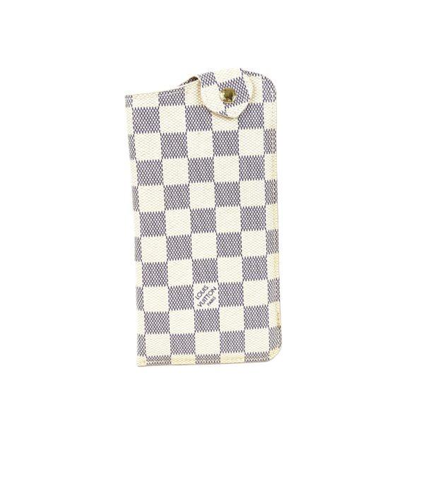 Louis Vuitton Damier Azur Sunglasses Case MM