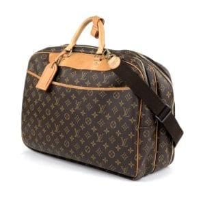 Louis Vuitton Monogram Alize 24 Heures Travel Bag