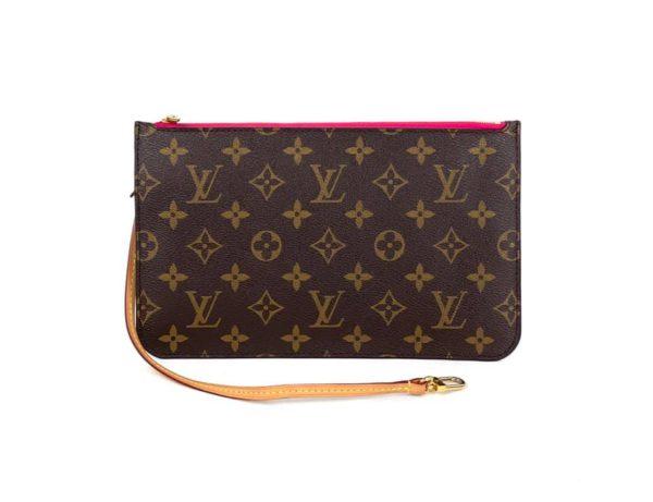 Louis Vuitton Monogram Neverfull Pochette Pivone