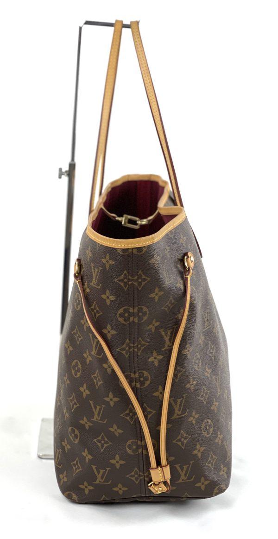 Louis Vuitton Monogram Neverfull Pivoine GM