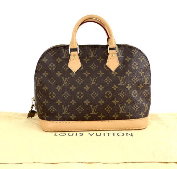 Louis Vuitton Brown Monogram Alma PM