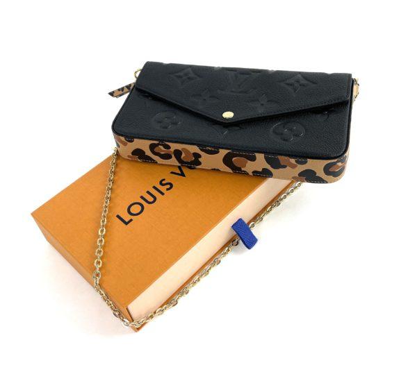 Louis Vuitton Empreinte Monogram Wild at Heart Felicie Pochette
