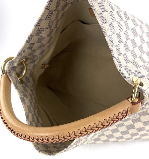 Louis Vuitton Azur Artsy MM inside