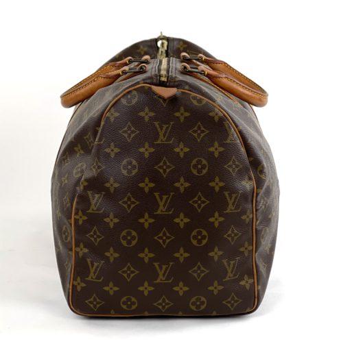 Louis Vuitton Monogram Keepall 50 side