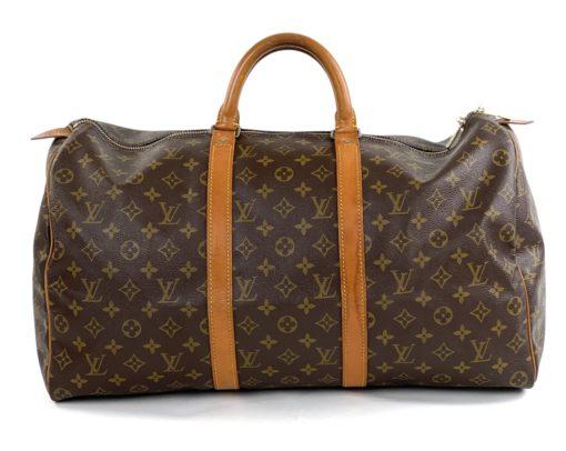 Louis Vuitton Monogram Keepall 50 back