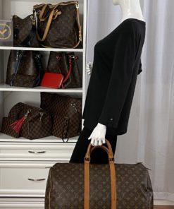 Louis Vuitton Monogram Keepall 50 model