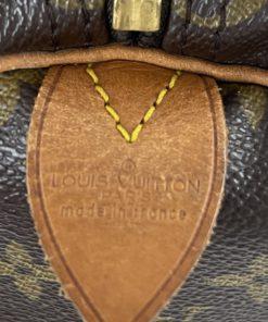 Louis Vuitton Monogram Keepall 50 tag