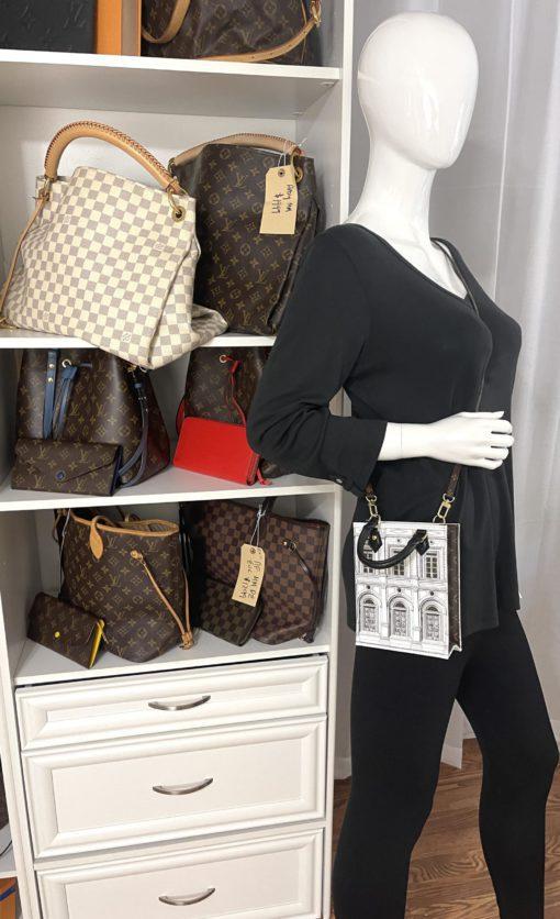 Louis Vuitton Architettura special edition Petit Sac Plat model