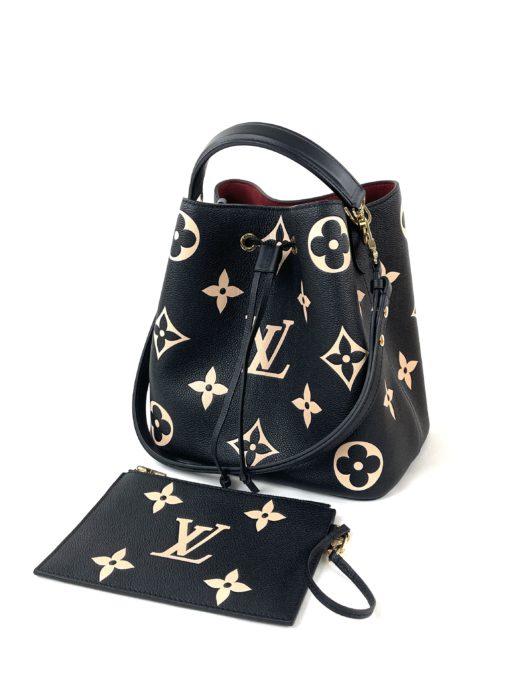 Louis Vuitton Neo Noe Black Bicolor Neo Noe